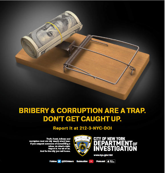 Image courtesy of the NYC Department of Investigation